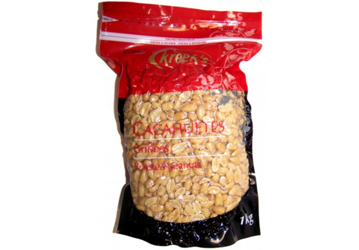 P.1KG CACAHUETES GRILLES BLANCHES