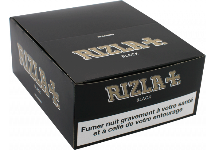 B.50 RIZLA BLACK SLIM