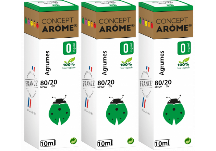 3x10ML POMME D AMOUR 0MG