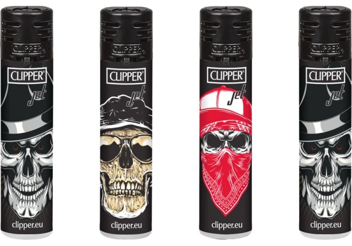 B.48 CLIPPER JET FLAMME SKULLS