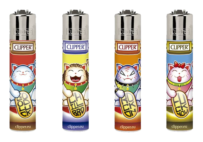 B48 CLIPPER MICRO LUCKY CATS