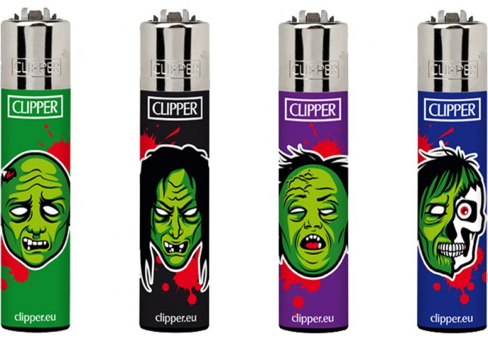 B.48 CLIPPER LARGE HORROR ZOMBIE