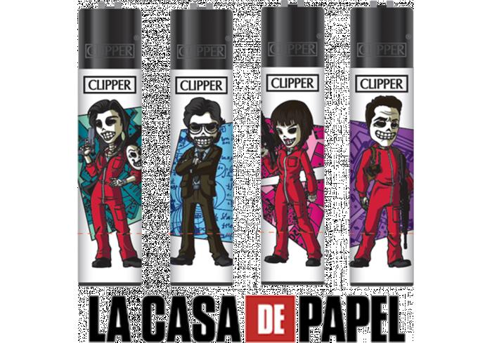 B.48 CLIPPER LARGE CASA DE PAPEL