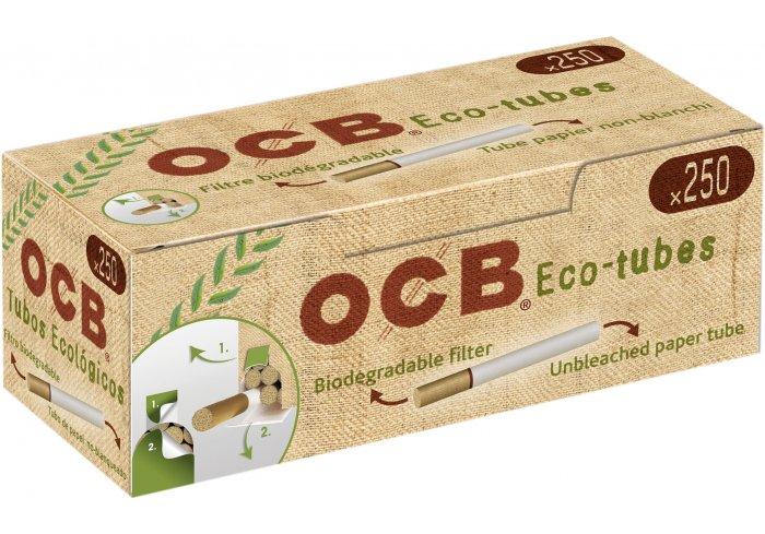 C. DE 40 BOITES DE  250 TUBES OCB ECO