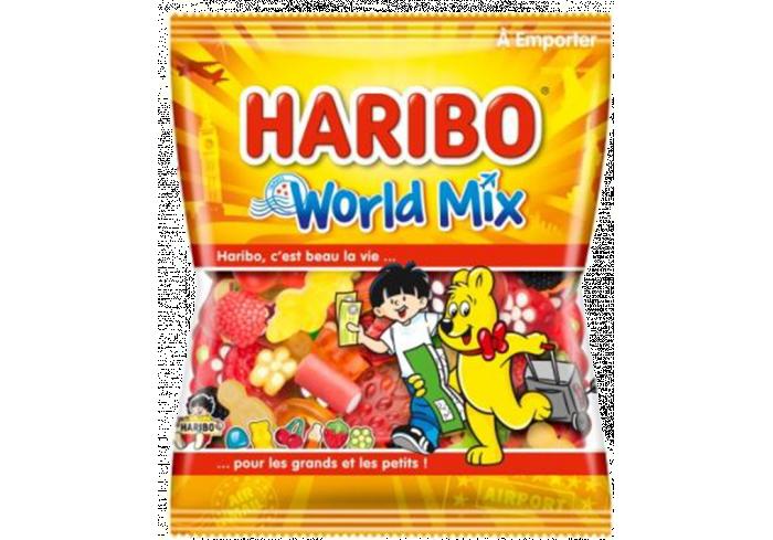 C;30 SACHETS 120gr HHARIBO WORLD MIX