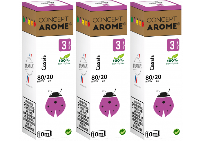 3x10ML CASSIS 3MG