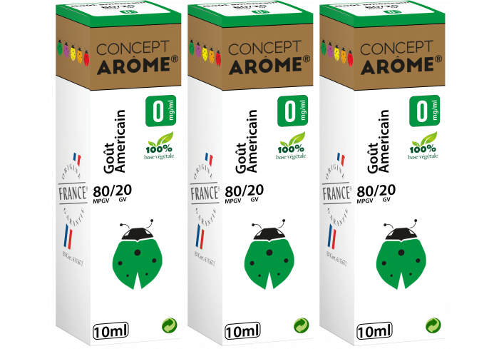 3x10ML GOUT AMERICAIN 00MG