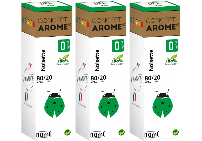 3x10ML NOISETTE 0MG