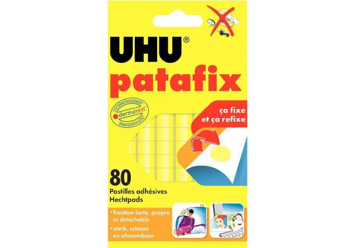 ETUIS 80 PASTILLES PATAFIX UHU