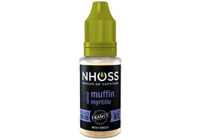 5X10ml Muffin Myrtille 6mg