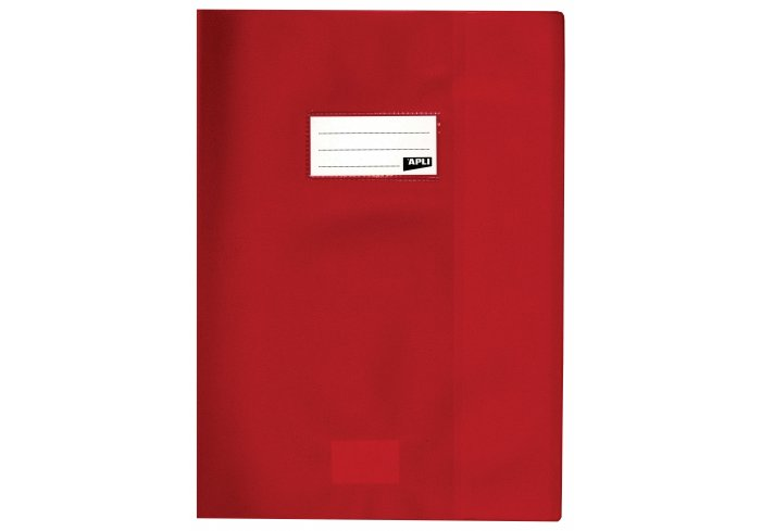 P.10 PROTEGE CAHIER 24X32 ROUGE
