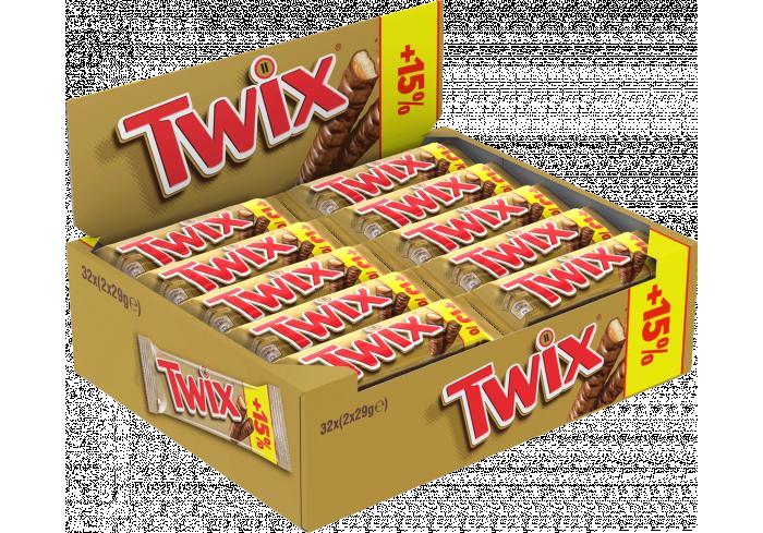 B.32 TWIX +15%