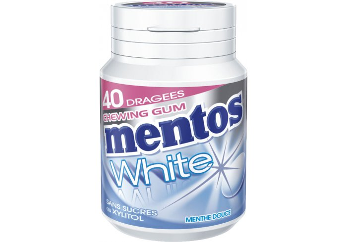 B. 6 BOX MENTOS WHITE MENTHE DOUCE
