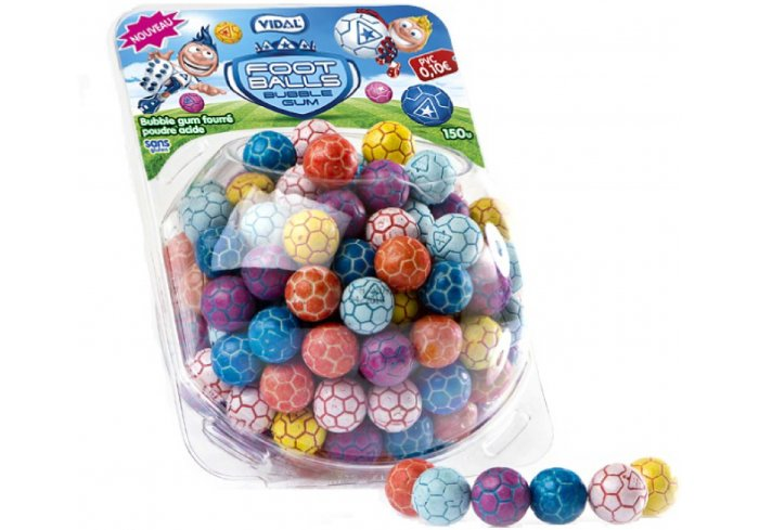 DISPLAY 150 BUBBLE FOOT BALLS
