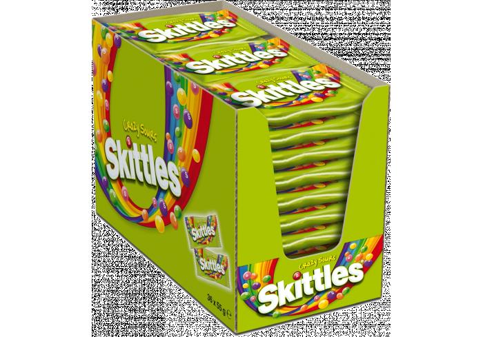 B. 36 SKITTLES ACIDULES