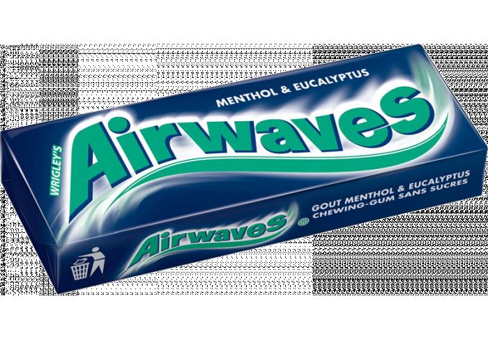 B. 30 ET. AIRWAVES MENTHOL EUCALYPTUS