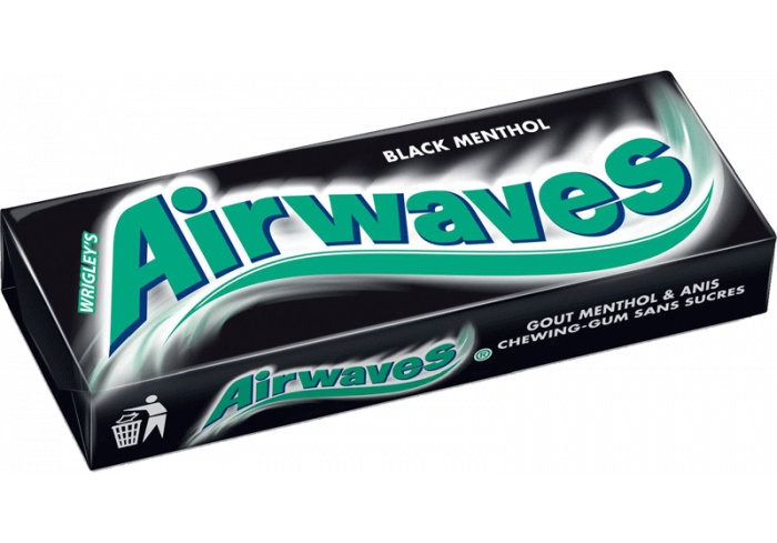 B. 30 ET. AIRWAVES BLACK MENTHOL