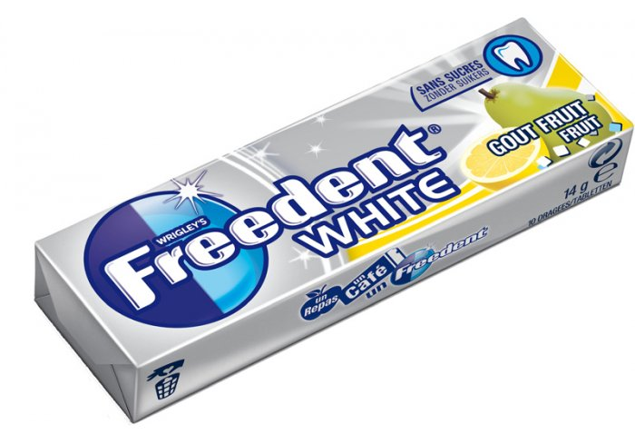 B.30 ET 10D FREEDENT WHITE FRUIT