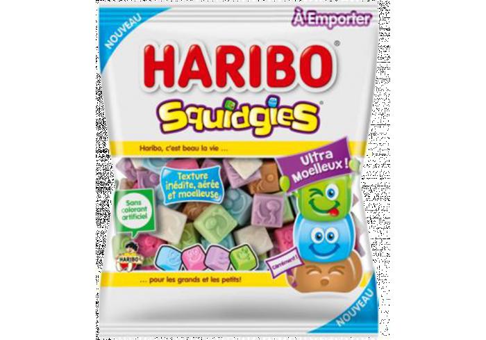 C.30 SACHET 100GR HARIBO SQUIDGIES