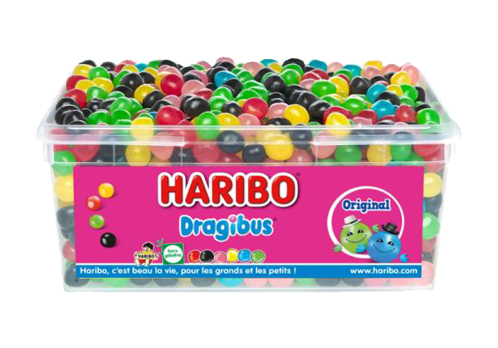 TUBO VRAC HARIBO DRAGIBUS