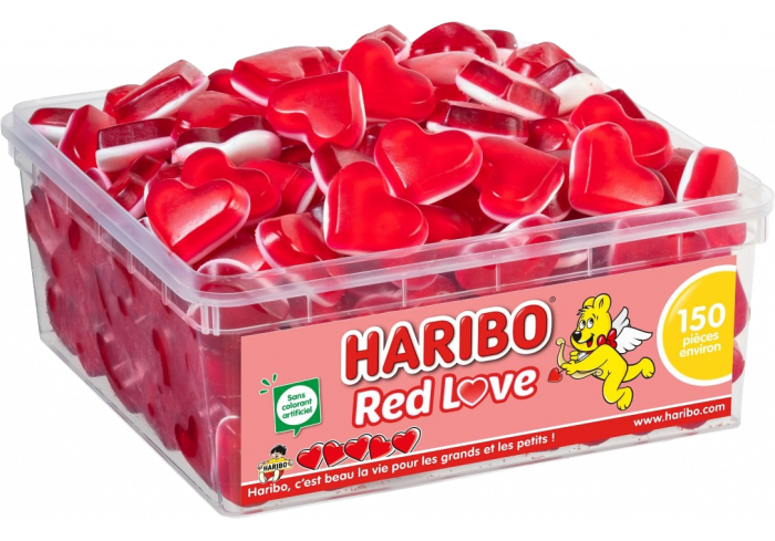 TUBO HARIBO 150 RED LOVE