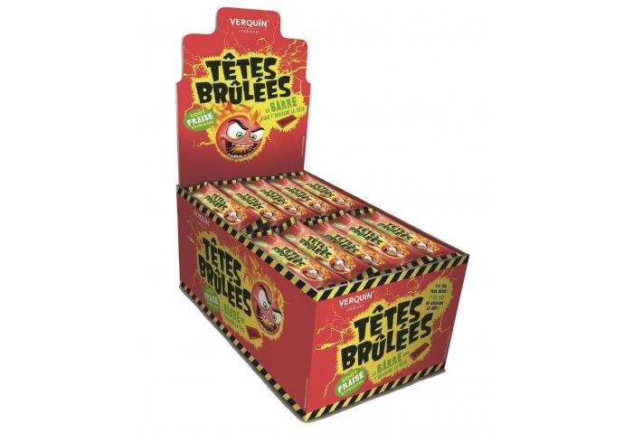 B. 150 STICK TETES BRULEES FRAISE