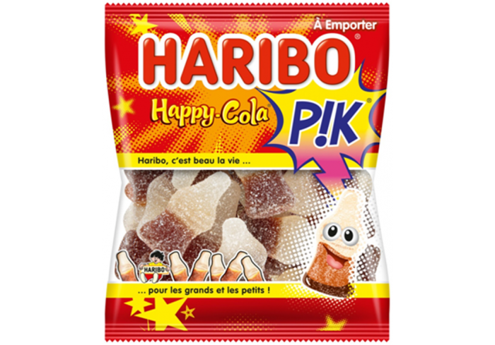 C.30 SACHETS 120G HAPPY COLA PIK