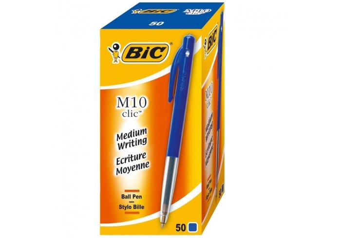 B.50 STYLO BIC CLIC M10 BLEU
