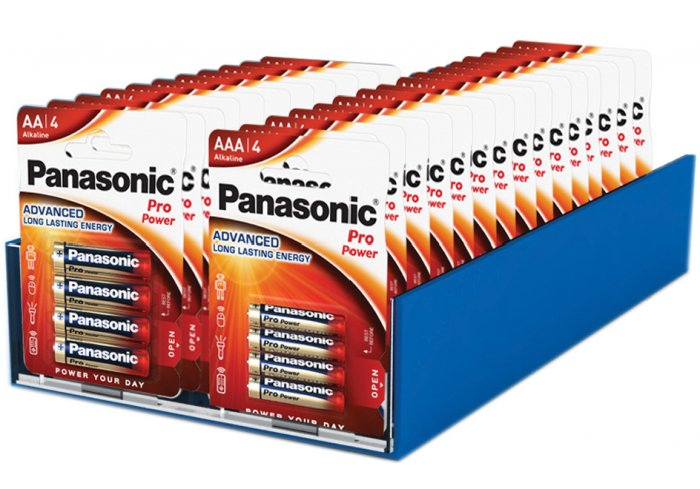 PRESENTOIR A POUSSOIR PANASONIC