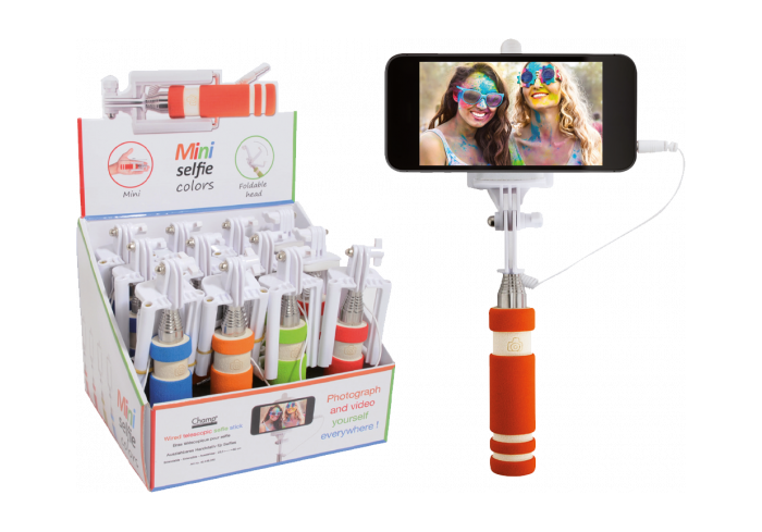 BOITE DE 12 MINI SELFIE TRENDY COLORS