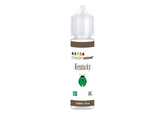 FL 50ML 50/50 KENTUCKY 0MG