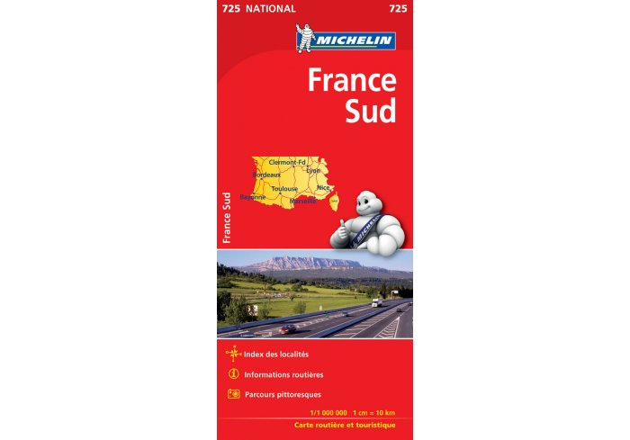 MICHELIN 721 FRANCE ENTIERE