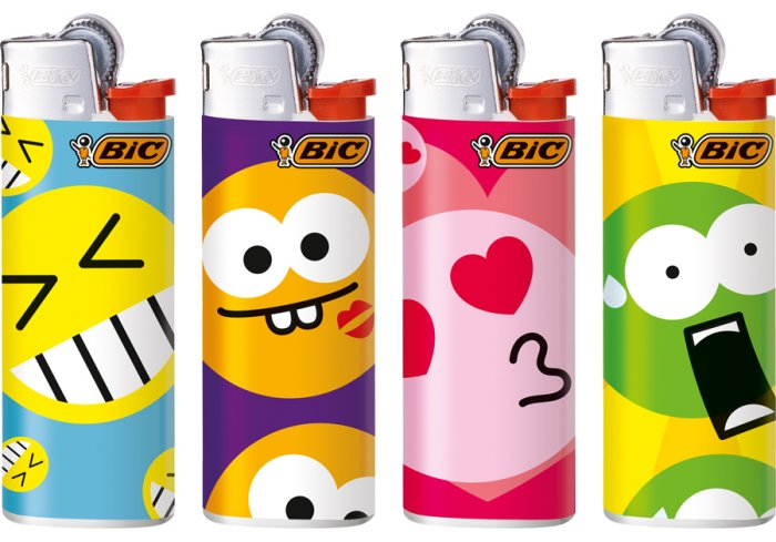 B.50 MINI BIC J25 FUNNY FACE