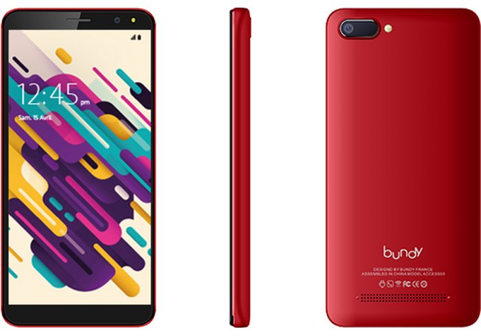 SMARTPHONE BUNDY ACCESS 55 ROUGE