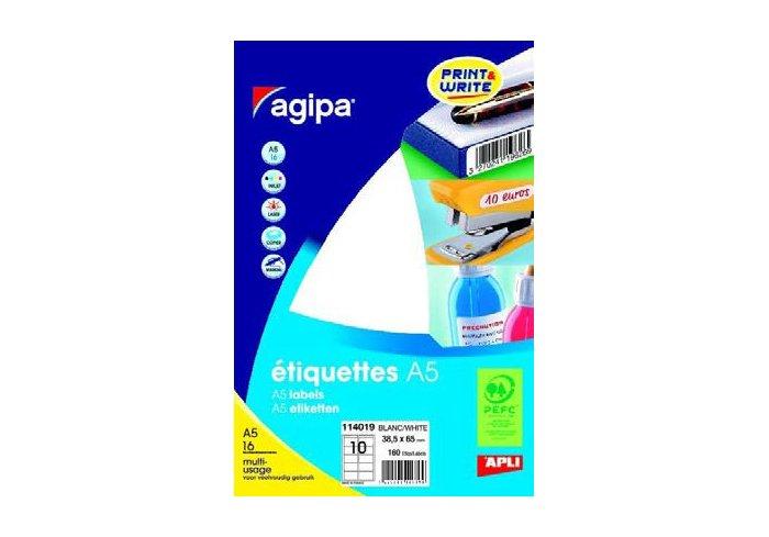 PLANCHE A5 ETIQUETTE 38.5x65