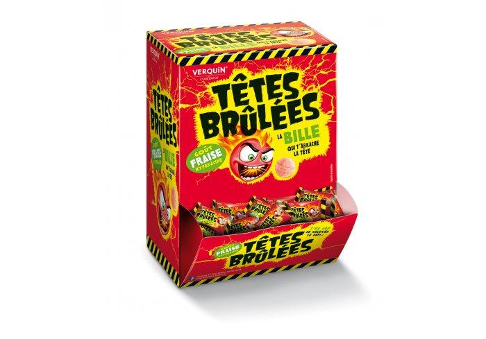 B. 300 TETES BRULEES FRAISE