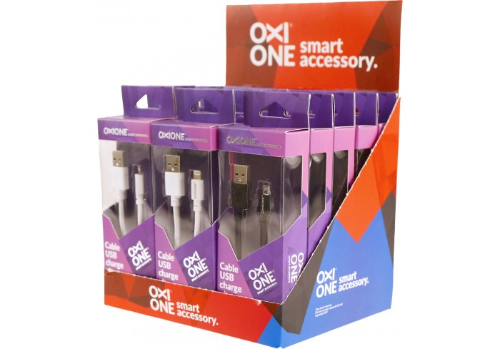 BOX 15 CABLES LIGHT/USB/USBC