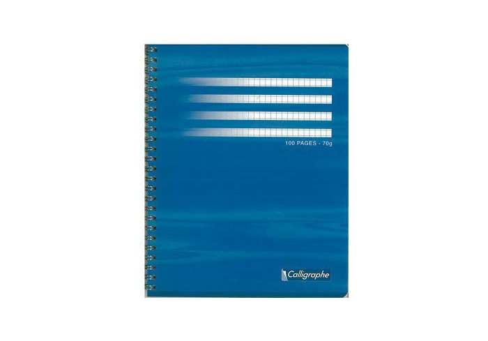 P.5 CAHIER SPIRALE 180P A4 seyes