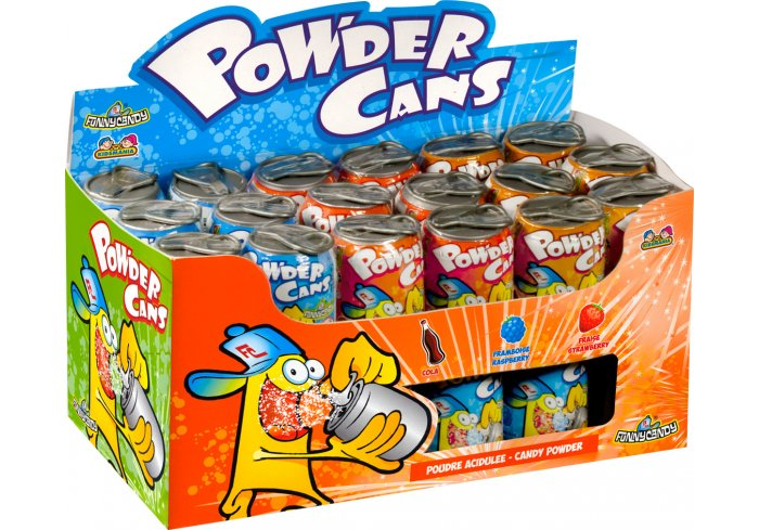 B.36 CANNETTES POWDER CANS