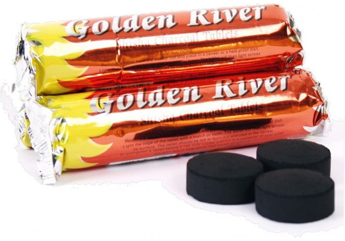 "B.10 RLX DE 10 CHARBONS ""GOLDEN RIVER"""