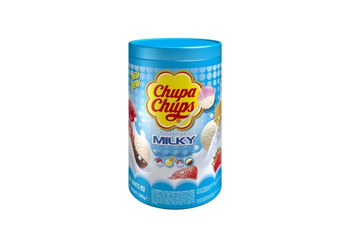 TUBO 100 CHUPA CHUPS LAIT