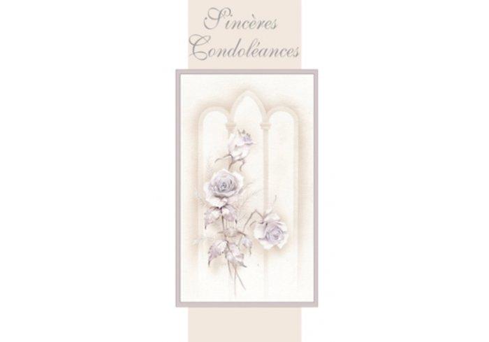 CARNET DE CONDOLEANCES - FLEURS
