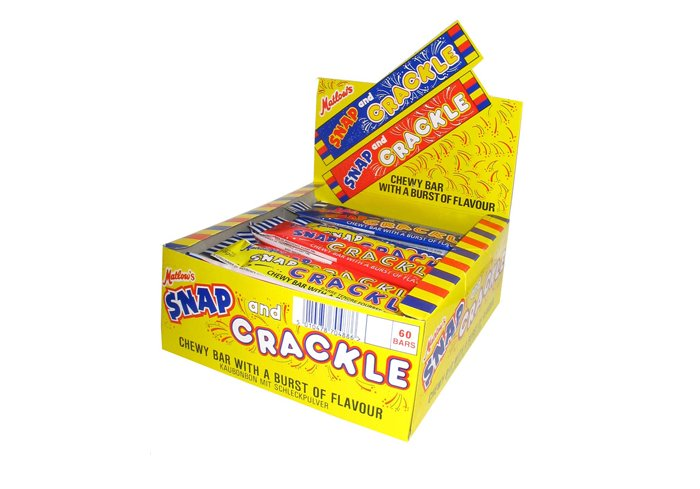 B. 60 SNAP CRACKLE