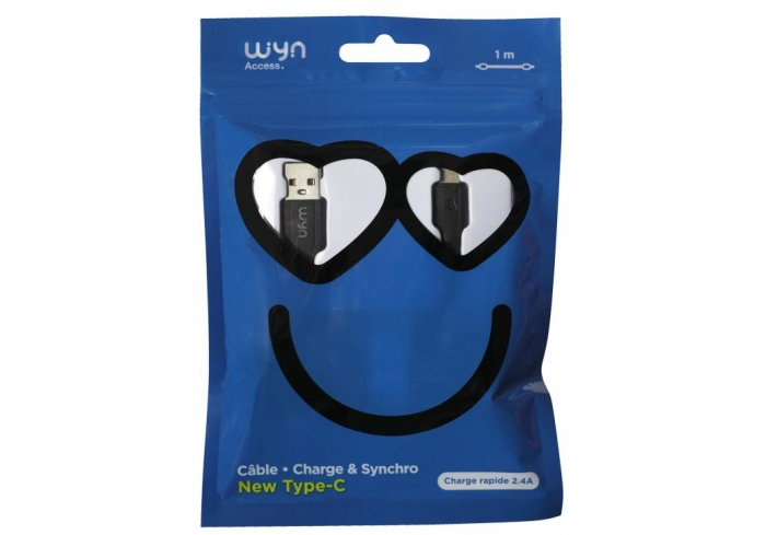 CABLE USB TYPE-C SMILE WYN