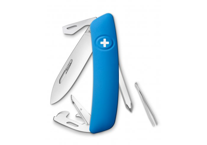 Couteau SWIZA D02 bleu