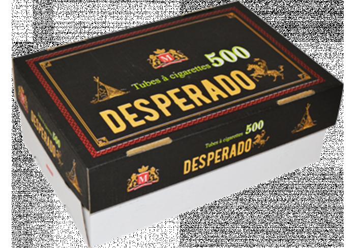 C.20 HARD BOX 500 TUBES DESPERADO