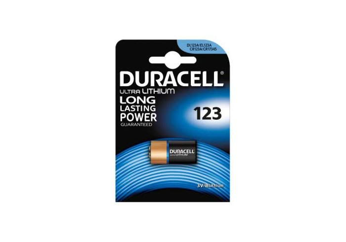 BL. PILE DURACELL 123