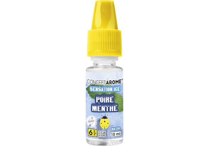 3x10ML POIRE MINT 6MG