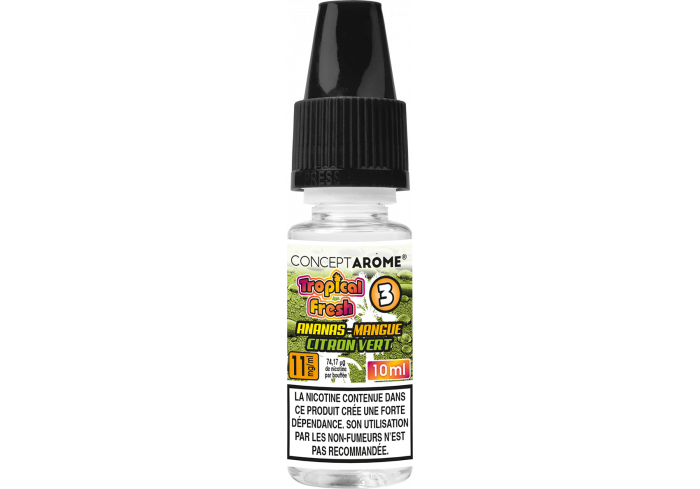3x10ML TROPICAL  ANANAS 11MG