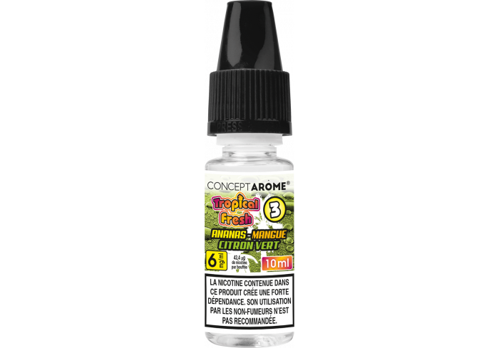 3x10ML TROPICAL FRESH N°3 6MG